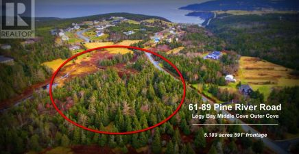 1220710, 61-89 Pine River Road, Logy Bay - Outer Cove - Mid...